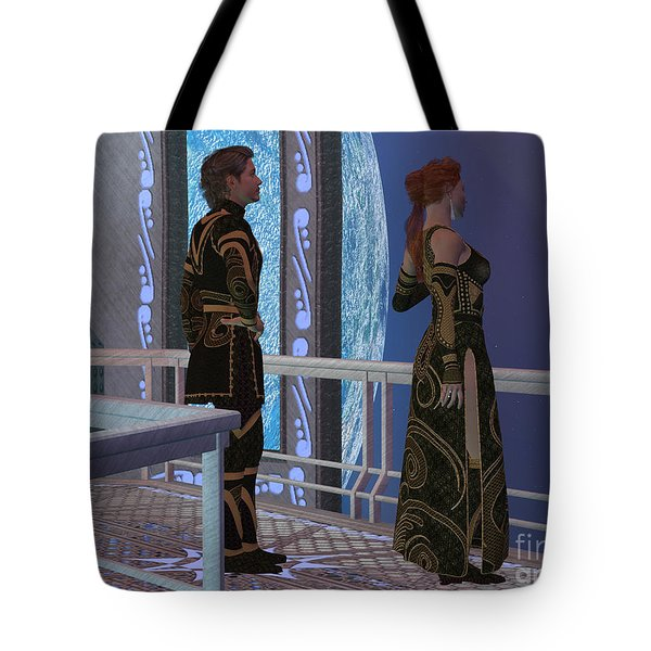 Earth Link Tote Bag
