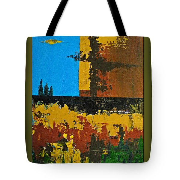 Earth Number Four Tote Bag by Scott Haley