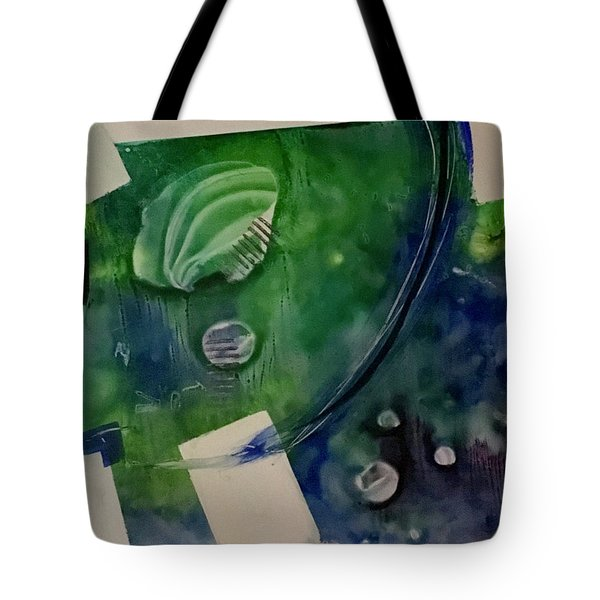 Earth Over Sky Tote Bag