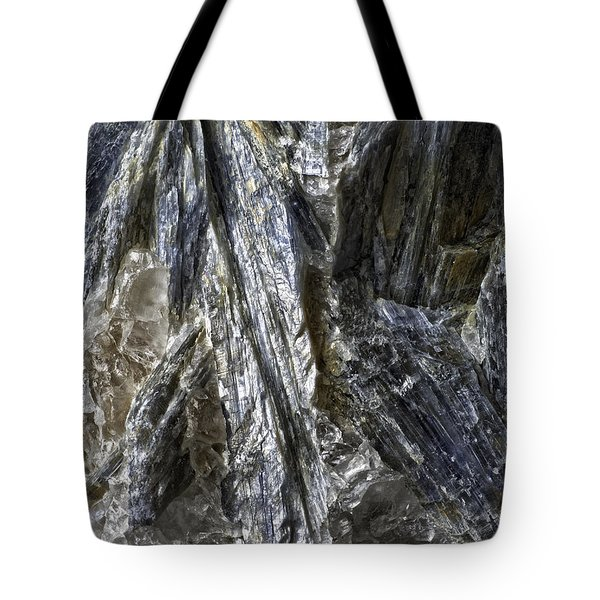 Earth Portrait Kyanite 001-089 Tote Bag