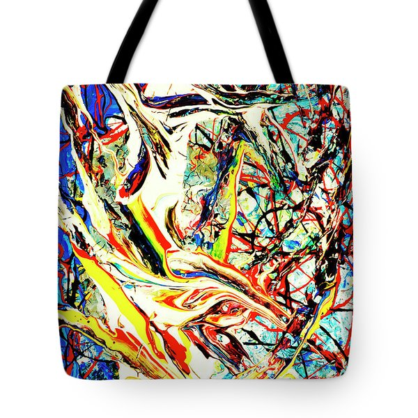 Earth Quaked Tote Bag by Elf Evans