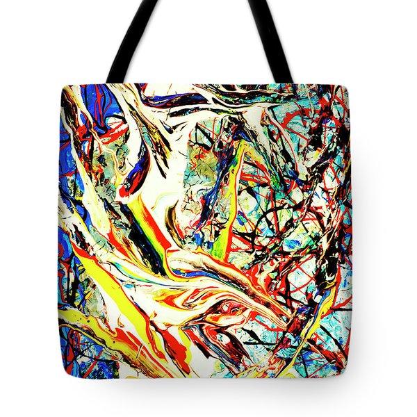 Earth Quaked Tote Bag