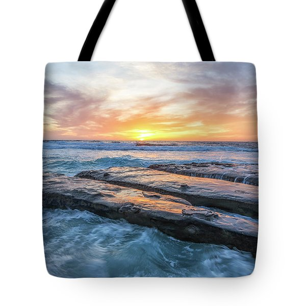 Earth, Sea, Sky Tote Bag