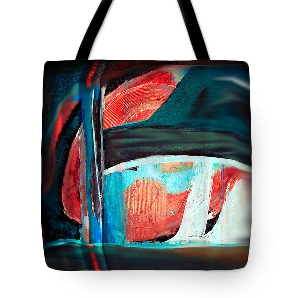 Tote Bag featuring the digital art Contrast And Concept by Yul Olaivar