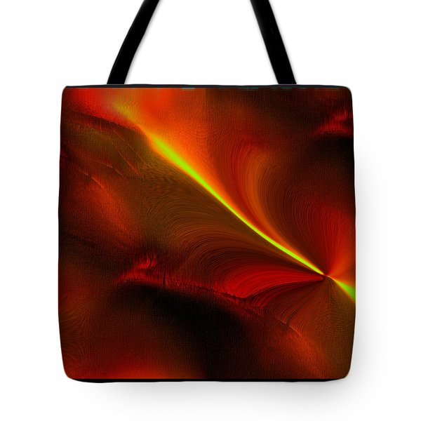 Tote Bag featuring the digital art Body Heat by Yul Olaivar