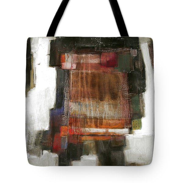 Orange Home Tote Bag