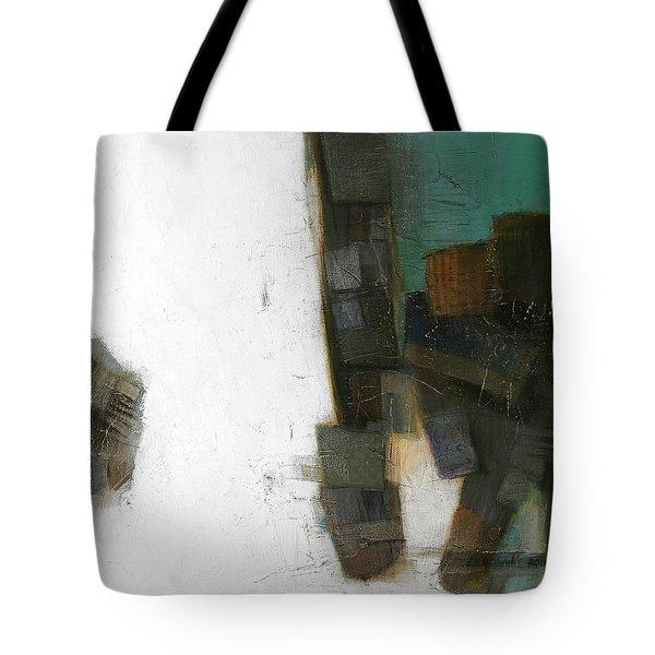 Earth Pattern Tote Bag by Behzad Sohrabi