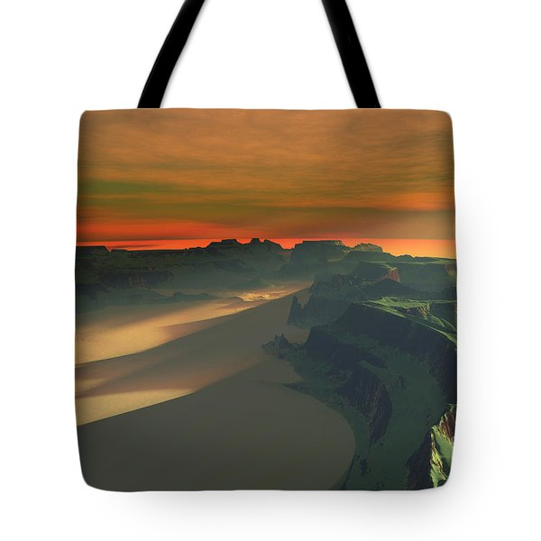 Earthbound Tote Bag by Corey Ford