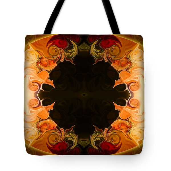 Earthly Undecided Bliss Abstract Organic Art By Omaste Witkowski Tote Bag