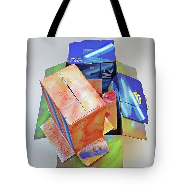 Earthquake 2 Tote Bag by Charles Stuart