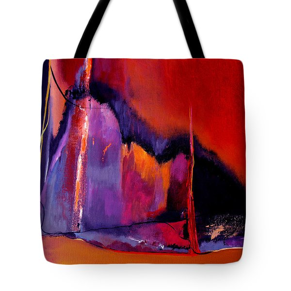 Earthquakes In Divers Places Tote Bag by Ruth Palmer