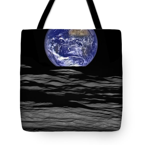 Earthrise Tote Bag