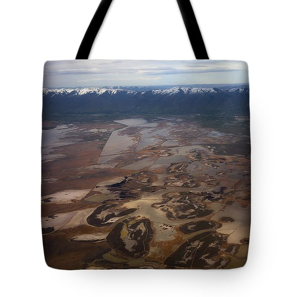Tote Bag featuring the photograph Earth's Kidneys by Ryan Manuel