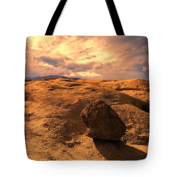 Earth's Seams Tote Bag
