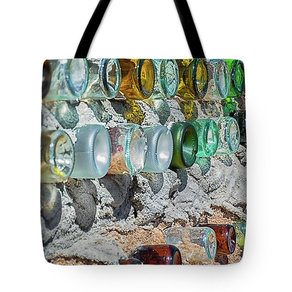 Earthship Wall Tote Bag