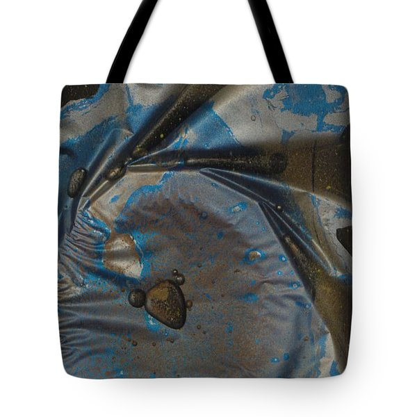 Earth...the Final Spin Tote Bag by Rick Silas