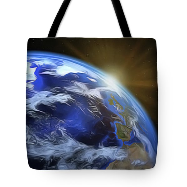 Earthview Tote Bag