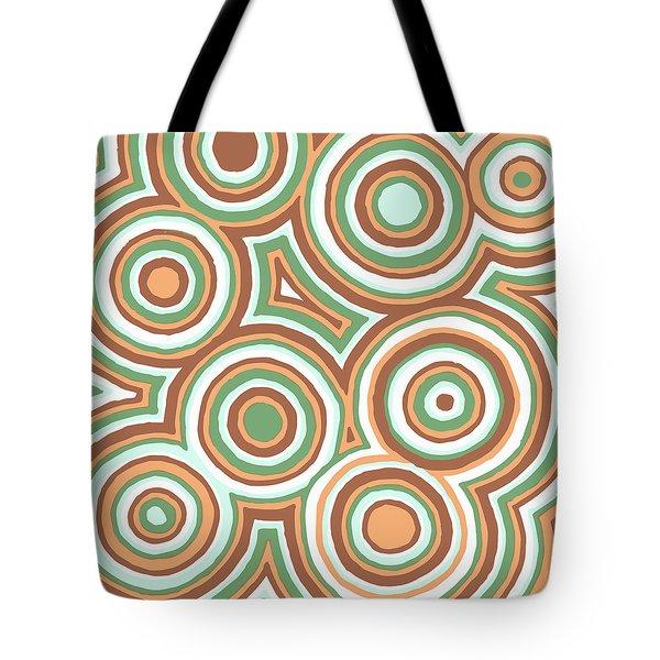 Earthy Drops Tote Bag by Jill Lenzmeier