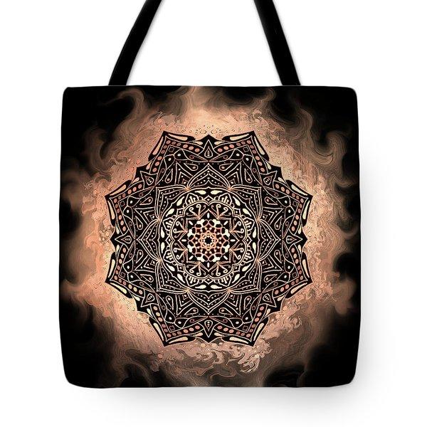 Earthy Mandala Tote Bag