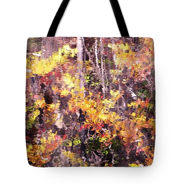 Tote Bag featuring the photograph Earthy Water by Melissa Stoudt