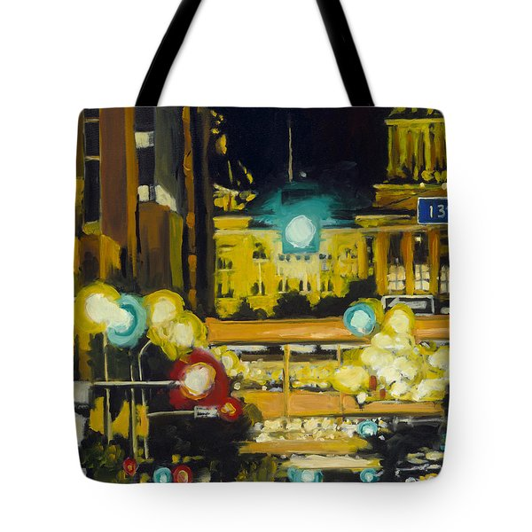 East 13th And Locust St Des Moines Tote Bag