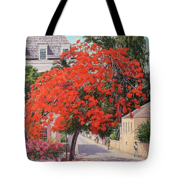 East And Shirley Street Tote Bag