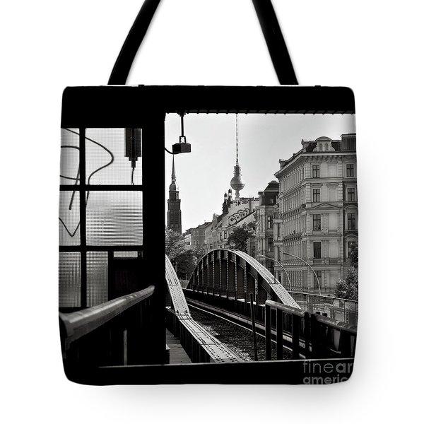 East Berlin Sound  Tote Bag