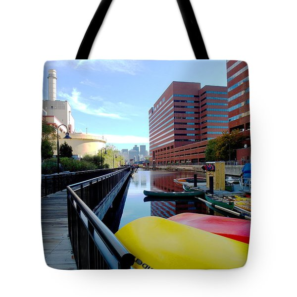 East Cambridge  Tote Bag