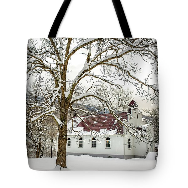 East Chapel Church Tote Bag