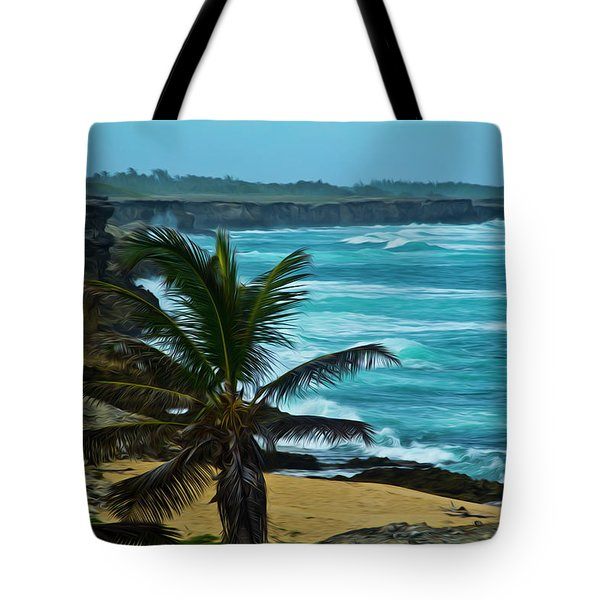 East Coast Bay Tote Bag