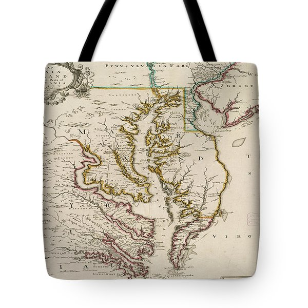 Tote Bag featuring the painting East Coast History by Harry Warrick