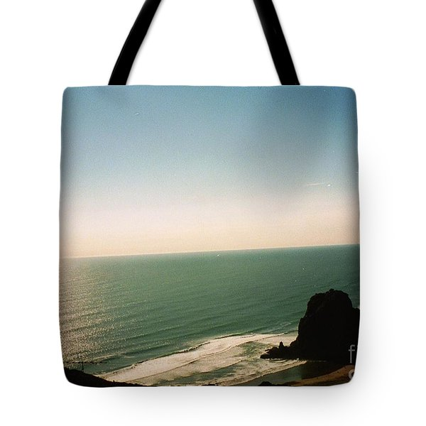 East Coastline In New Zealand Tote Bag