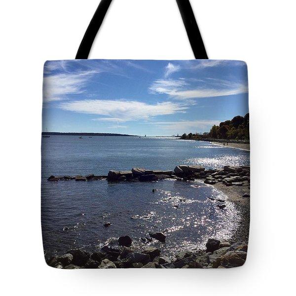 East End Beach Portland, Maine, October 2015 Tote Bag