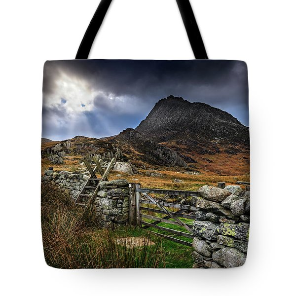 East Face Tryfan Snowdonia Tote Bag