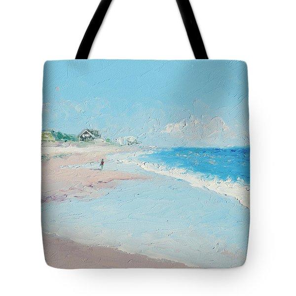 East Hampton Beach Tote Bag