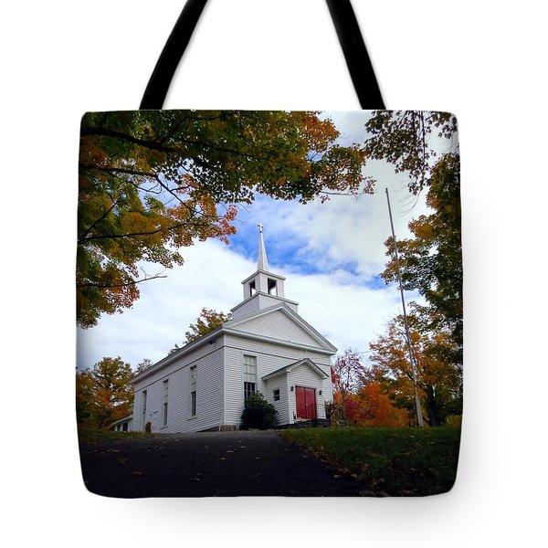 East Jewett Church Tote Bag