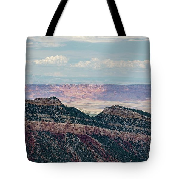 Tote Bag featuring the photograph East Kaibab Monocline by Gaelyn Olmsted
