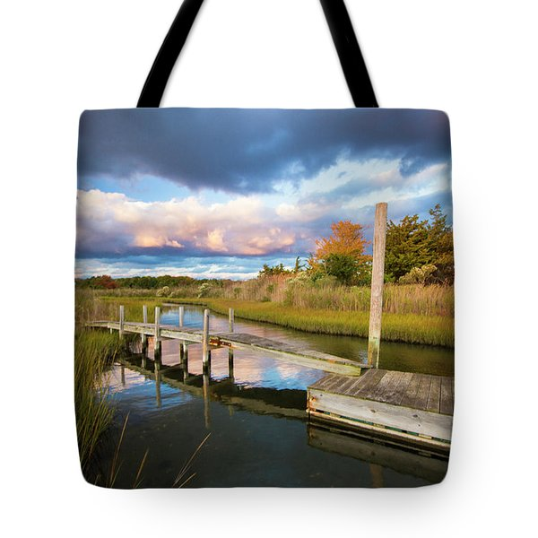 East Moriches Reflections Tote Bag