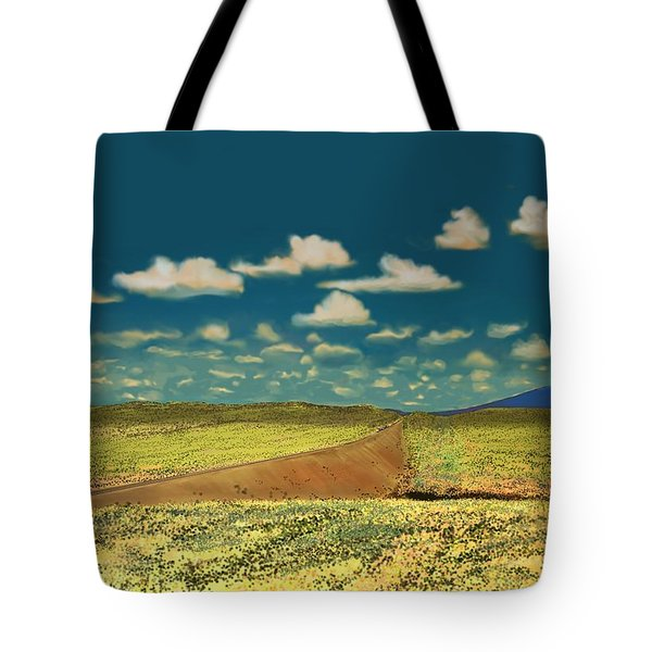 East Of Flagstaff Arizona Tote Bag