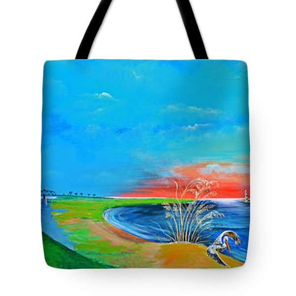 East Of The Cooper Tote Bag