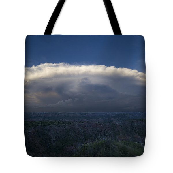 East Of The Palo Duro Tote Bag by Karen Slagle