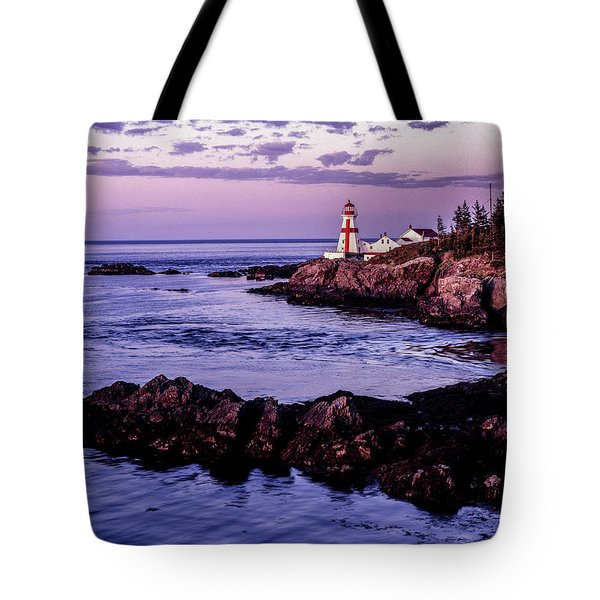 East Quoddy Head, Canada Tote Bag