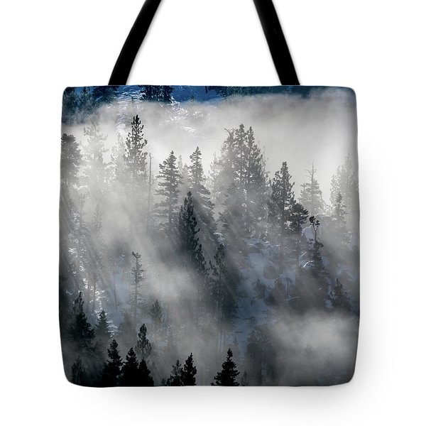 East Shore Inversion, Lake Tahoe Tote Bag