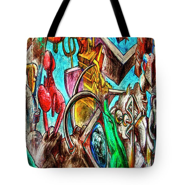East Side Gallery Tote Bag