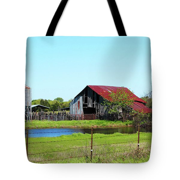 East Texas Barn Tote Bag