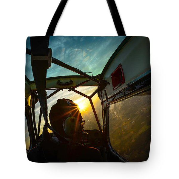 East Towards The Dawn Tote Bag