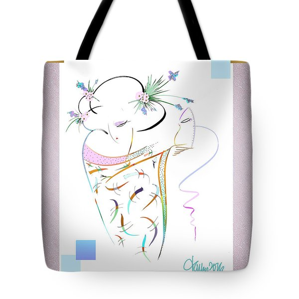 East Wind - Masquerade Tote Bag