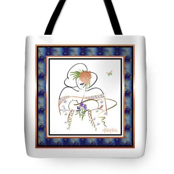 East Wind - Temple Cat Tote Bag