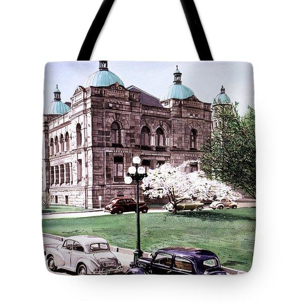 East Wing Legislative Buildings Tote Bag