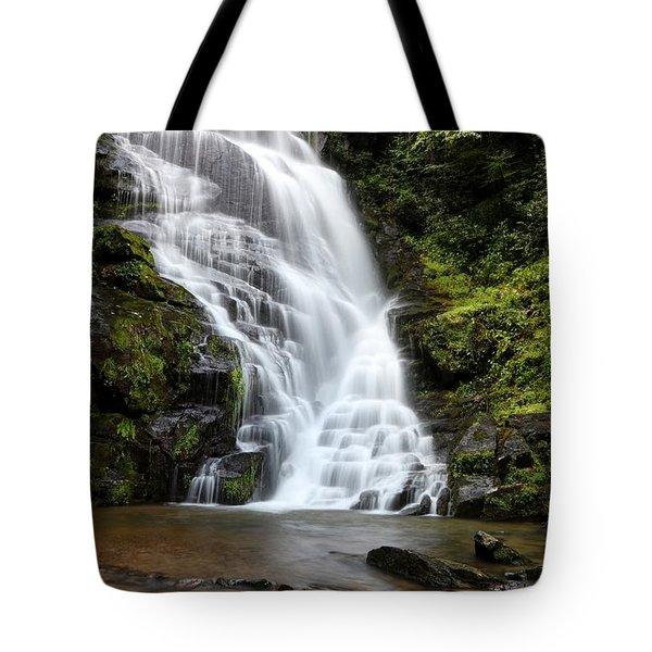 Eastatoe Falls Rages Tote Bag